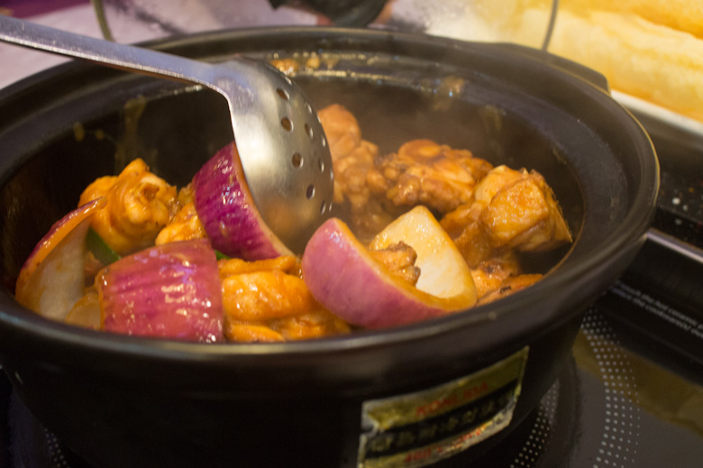 Hong Kong Cray !!! Chicken Pot: All Sorts of Literal and Figurative
