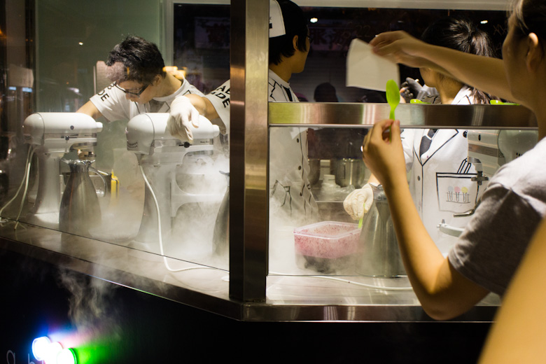 A Review of Lab Made Liquid Nitrogen Ice Cream Laboratory ...