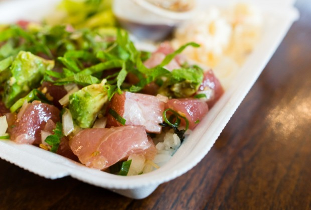Pioneer saloon review hawaiian japanese comfort food in for Aloha asian cuisine