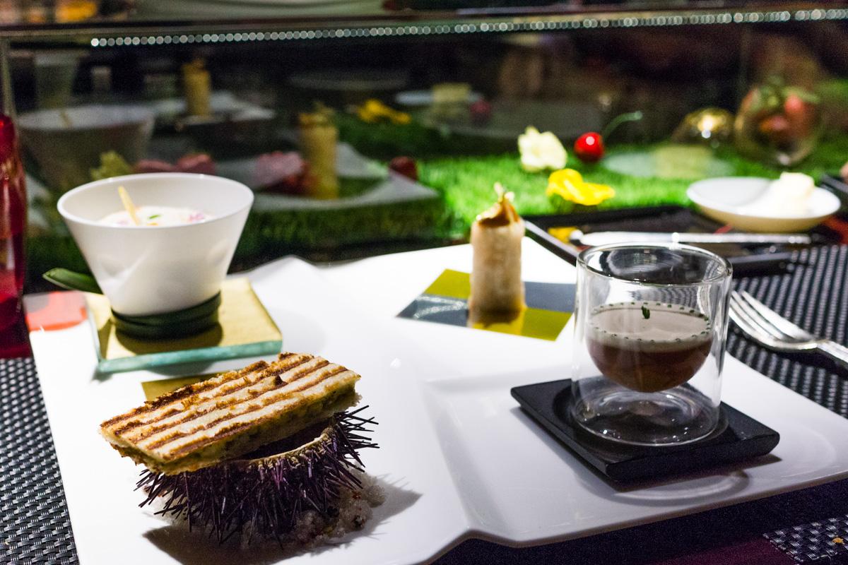 L 39 atelier de joel robuchon review 3 michelin star for Atelier cuisine marrakech