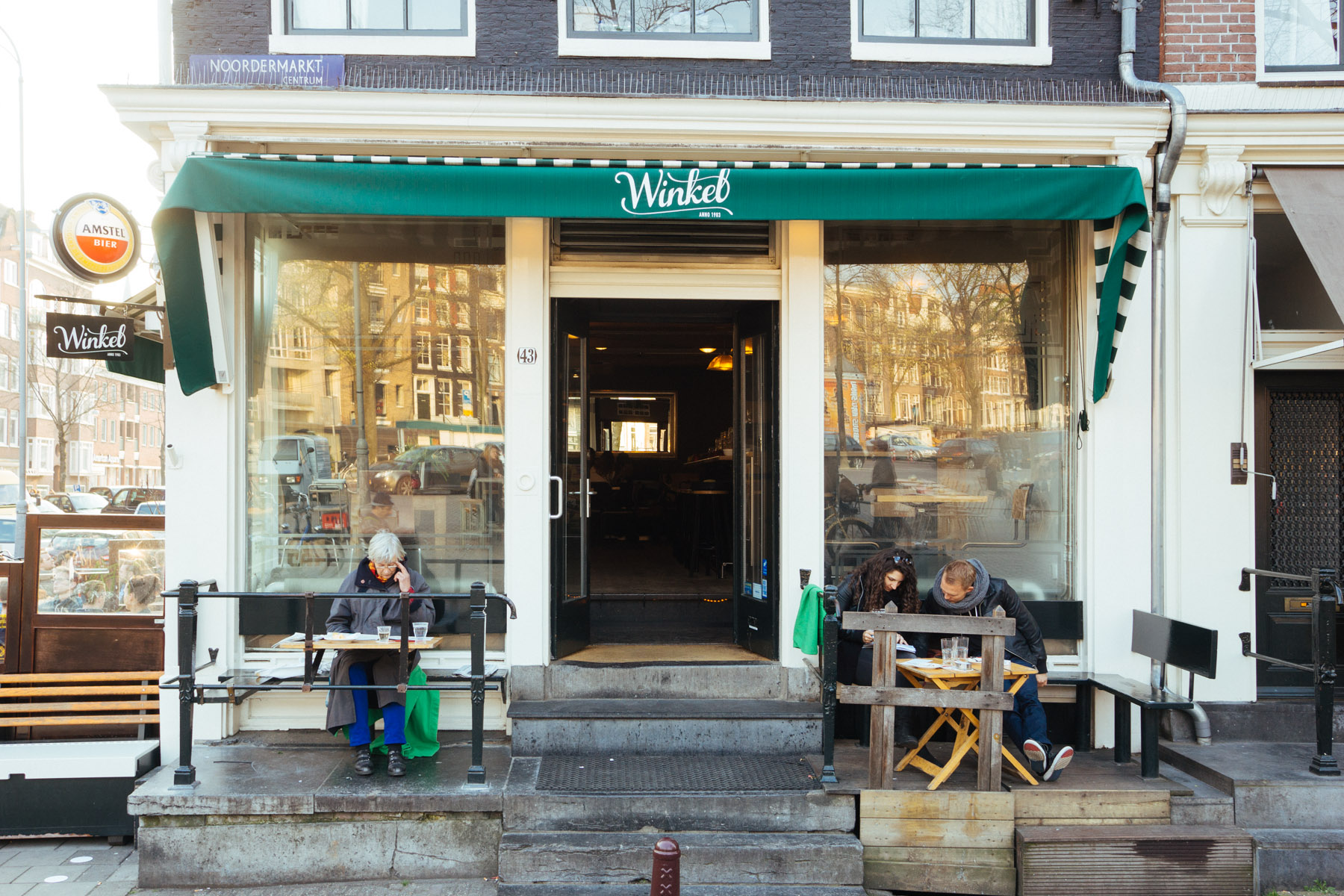 Cafe Winkel 43 Review  Best Apple Pie    Appeltaart in Amsterdam, Netherlands   That Food Cray