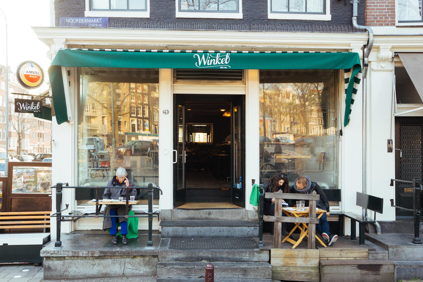 Cafe Winkel 43 Review Best Apple Pie Appeltaart In