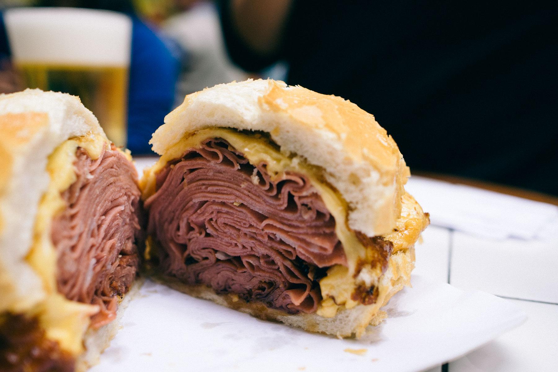 Mortadella Sandwich The Mortadella Sandwich