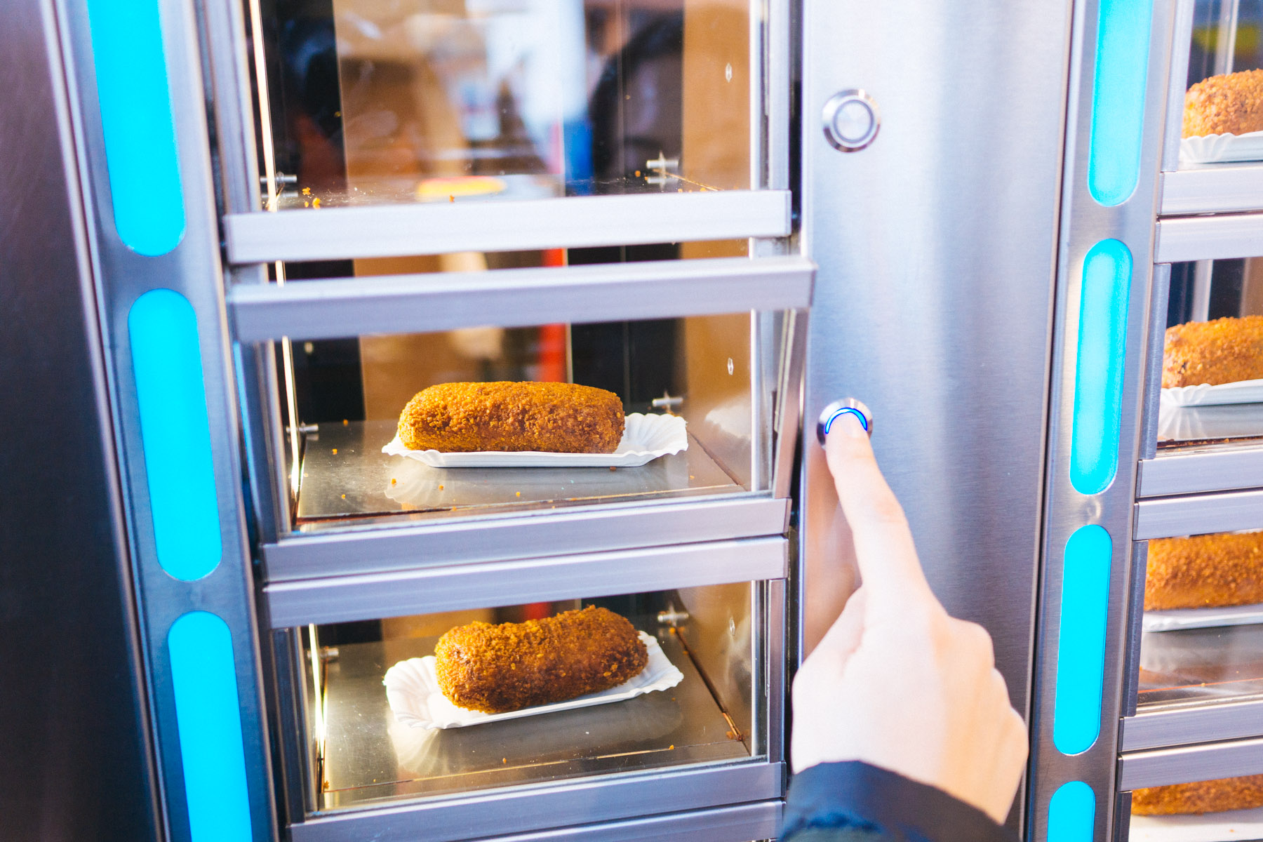 Fast In German >> Febo vs Smullers: Fast Food Vending Machines in Amsterdam, Netherlands | That Food Cray