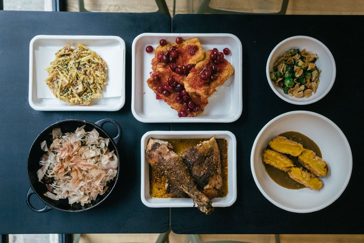 Yardbird restaurant x stussy thanksgiving in hong kong for Cuisine x hong kong margaret
