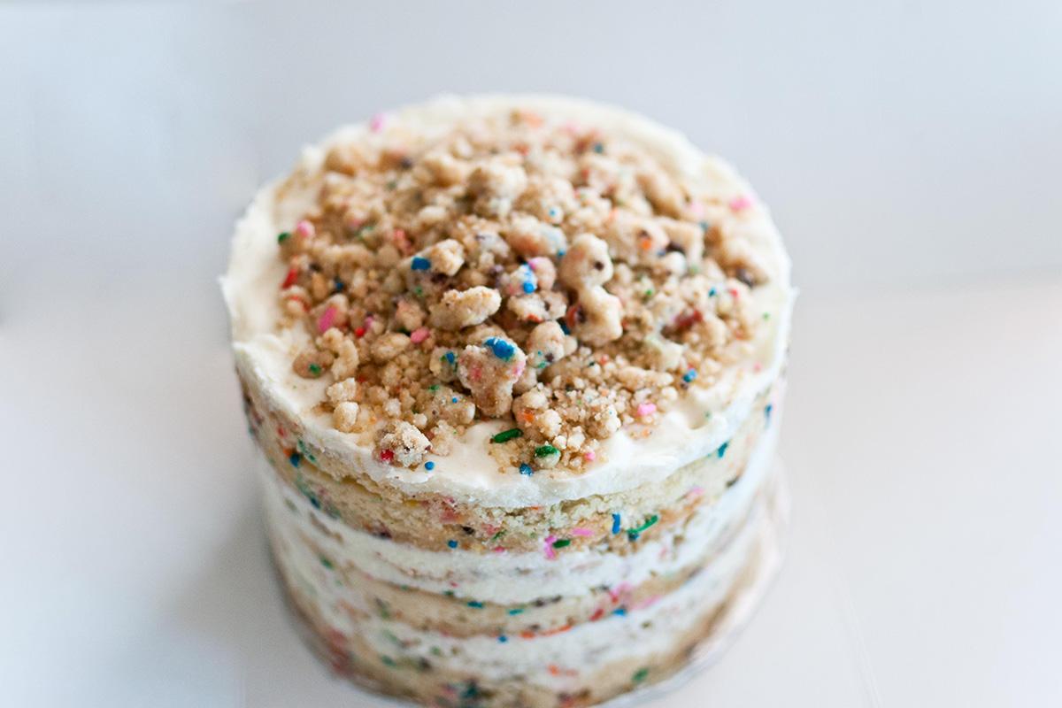 How To Make Momofuku Milk Bars Sprinkle Filled Birthday Cake