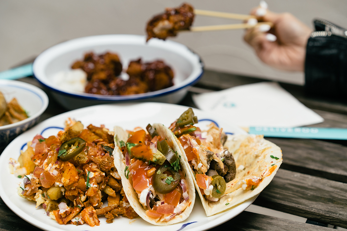 Korean Food Delivery London Uk