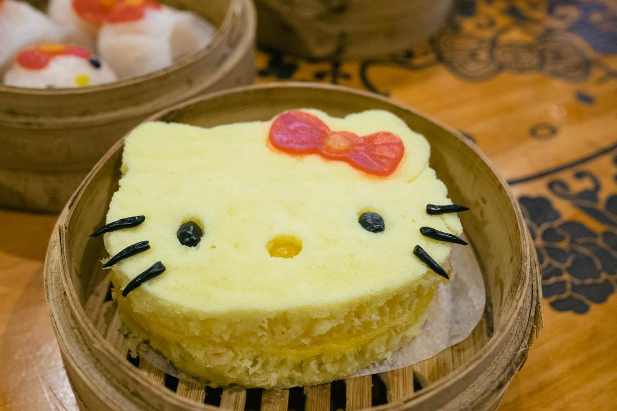 Hello Kitty Dim Sum Chinese Restaurant Hong Kong