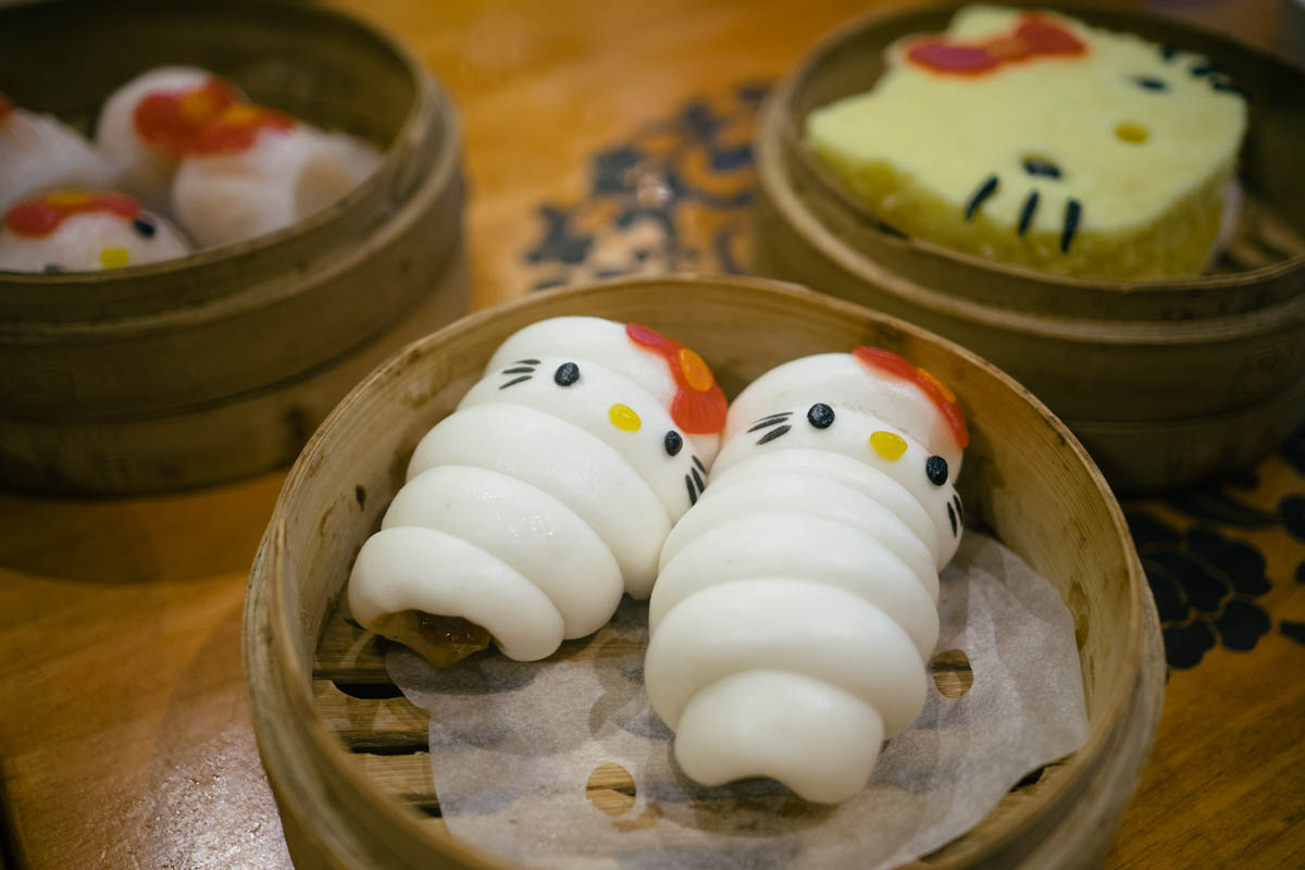 Hello kitty dim sum chinese restaurant hong kong for Cuisine x hong kong